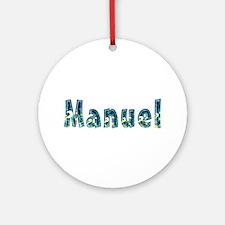 Manuel Under Sea Round Ornament