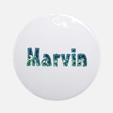 Marvin Under Sea Round Ornament