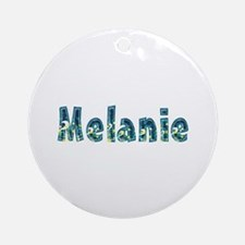 Melanie Under Sea Round Ornament