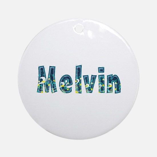Melvin Under Sea Round Ornament