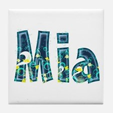 Mia Under Sea Tile Coaster