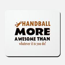 Awesome Handball designs Mousepad