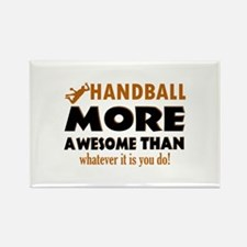 Awesome Handball designs Rectangle Magnet