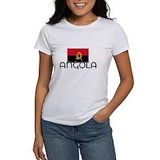 I HEART ANGOLA FLAG T-Shirt