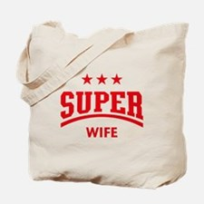 Super Wife (Red) Tote Bag