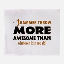 Hammer Throw designs Throw Blanket