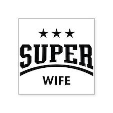 Super Wife (Black) Sticker