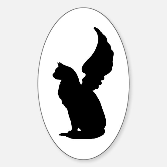 Angel Cat Decal