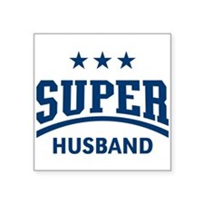 Super Husband (Blue) Sticker