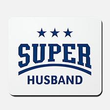 Super Husband (Blue) Mousepad