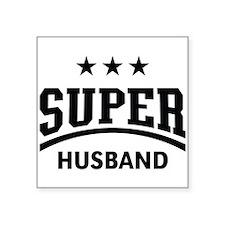 Super Husband (Black) Sticker