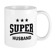 Super Husband (Black) Mug