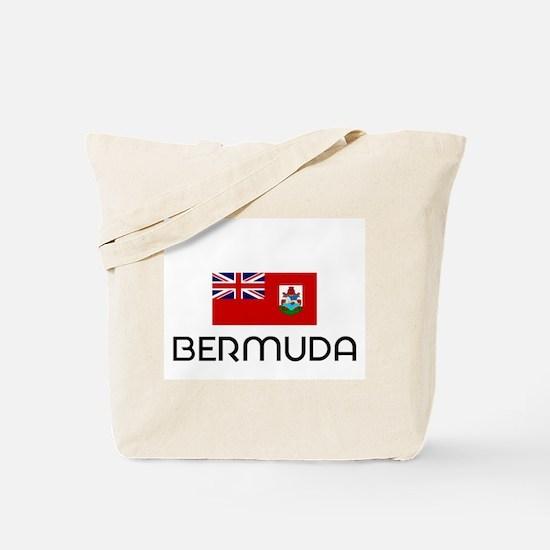 I HEART BERMUDA FLAG Tote Bag