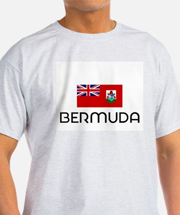 I HEART BERMUDA FLAG T-Shirt
