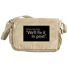 Fix it in Post Messenger Bag