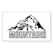 mountain rocky climbing Decal