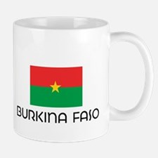 I HEART BURKINA FASO FLAG Mug