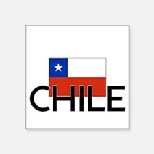 I HEART CHILE FLAG Sticker