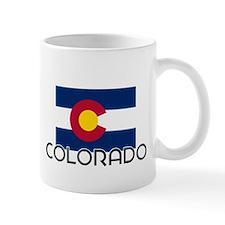 I HEART COLORADO FLAG Mug