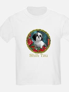 Shih Tzu Valentine China Kids T-Shirt