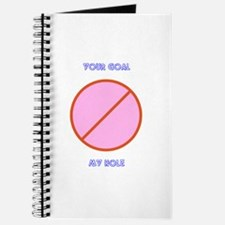 Your Goal My Hole Journal