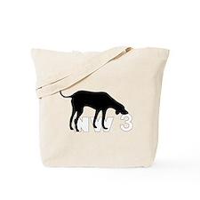 Nose Work 3 Tote Bag