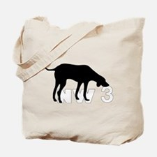 Nose Work 3 Tote Bag