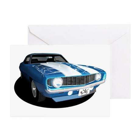 Z28/SS Camaro Greeting Cards (Pk of 10)