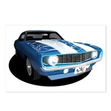 Z28/SS Camaro Postcards (Package of 8)