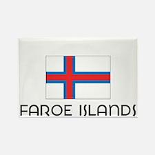 I HEART FAROE ISLANDS FLAG Rectangle Magnet