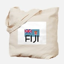 I HEART FIJI FLAG Tote Bag