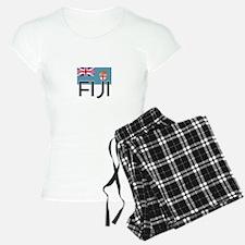 I HEART FIJI FLAG Pajamas