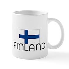 I HEART FINLAND FLAG Mug