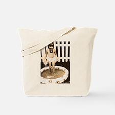 Gas mask Play Tote Bag