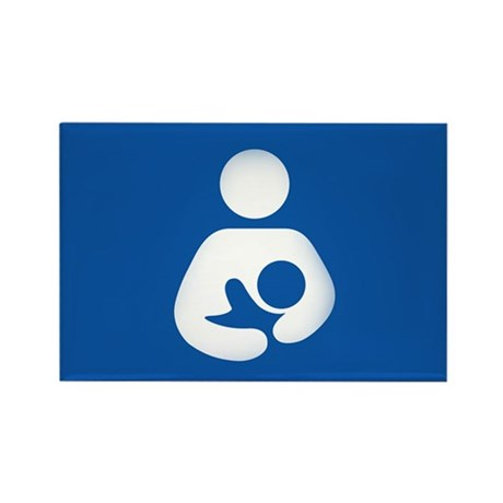 Breastfeeding Friendly Rectangle Magnet (100 pack)