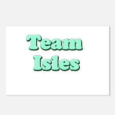 Team Isles Postcards (Package of 8)