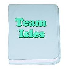 Team Isles baby blanket