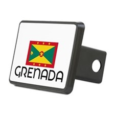 I HEART GRENADA FLAG Hitch Cover