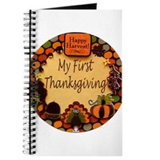 My First Thanksgiving Journal