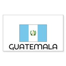 I HEART GUATEMALA FLAG Decal
