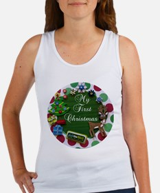 My First Christmas Tank Top