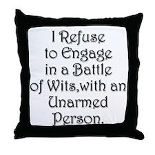 Cute Politics Throw Pillow