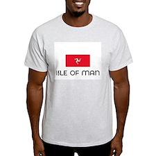 I HEART ISLE OF MAN FLAG T-Shirt