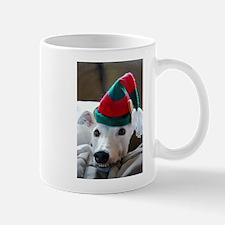 Greyhound Elf Mug