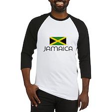 I HEART JAMAICA FLAG Baseball Jersey