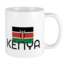 I HEART KENYA FLAG Mug