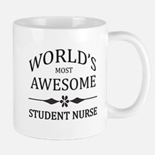 World's Most Awesome Student Nurse Mug