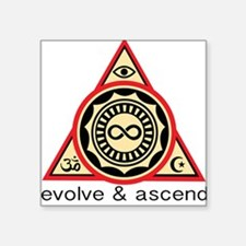 Evolve and Ascend Sticker
