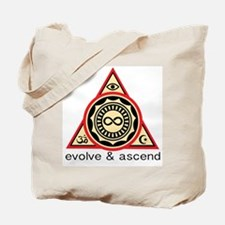 Evolve and Ascend Tote Bag