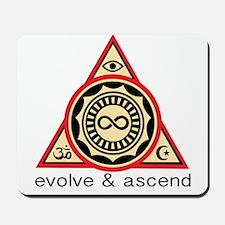 Evolve and Ascend Mousepad